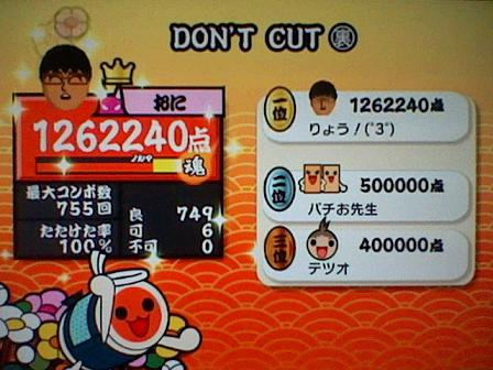 DONT CUT(裏) Wii2
