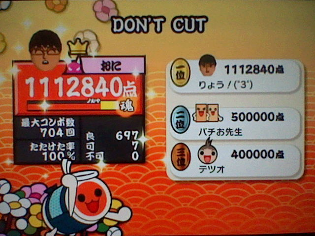 DONT CUT Wii2