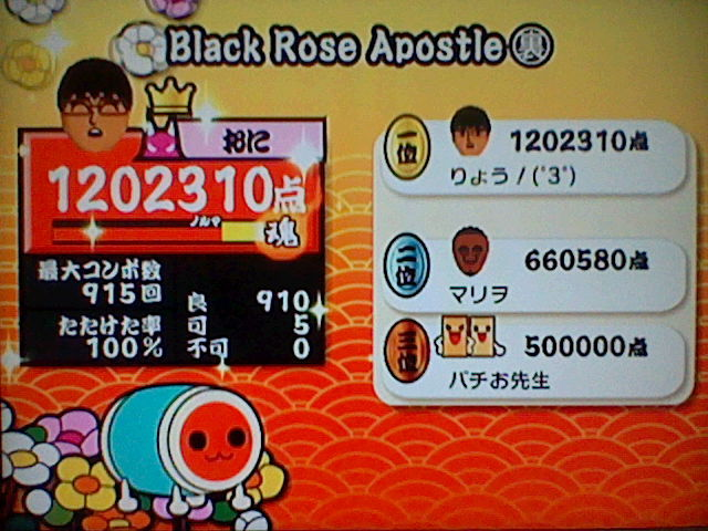 Black Rose Apostle(裏)