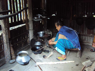 My Aunt at the Kitchen