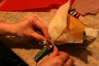 グラスブーケ 作り方