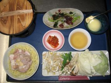 1214 ホルモン鍋定食