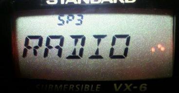 ラジオ周波数