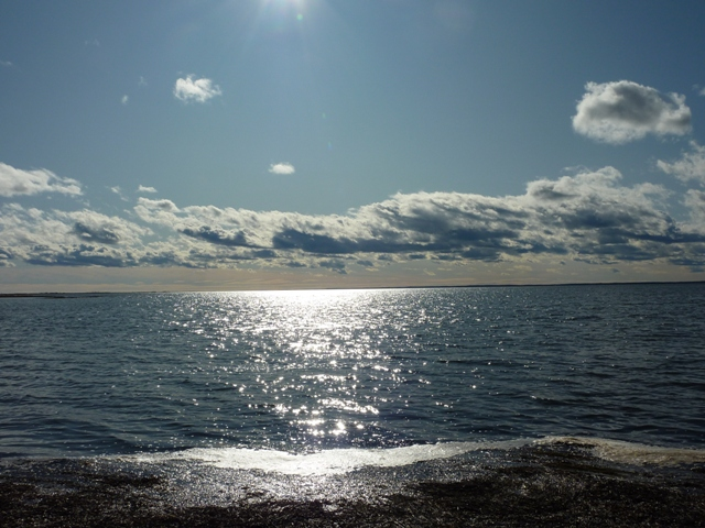 191光る海面