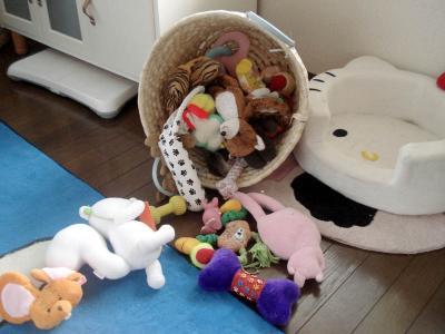 おもちゃかごが・・・