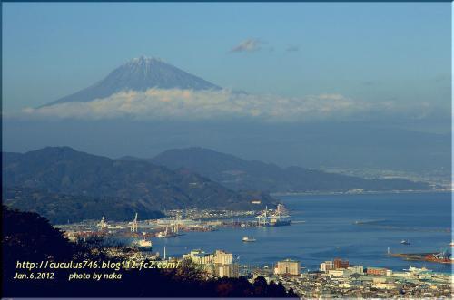 富士と清水港