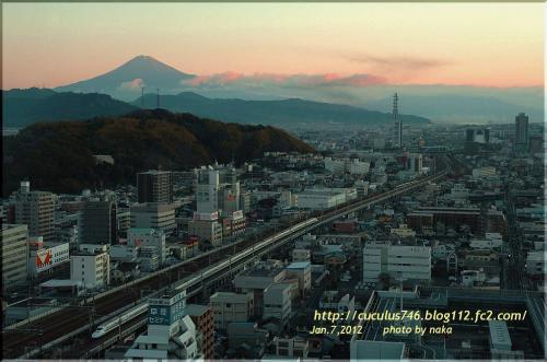 富士と市内