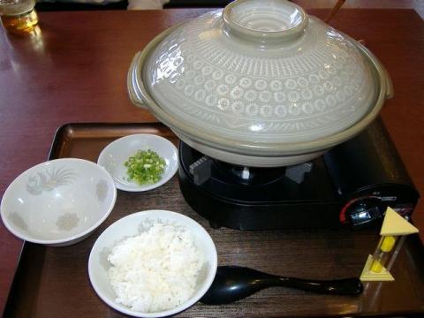 さんぽう亭三条店・鍋焼きカレーらーめん1