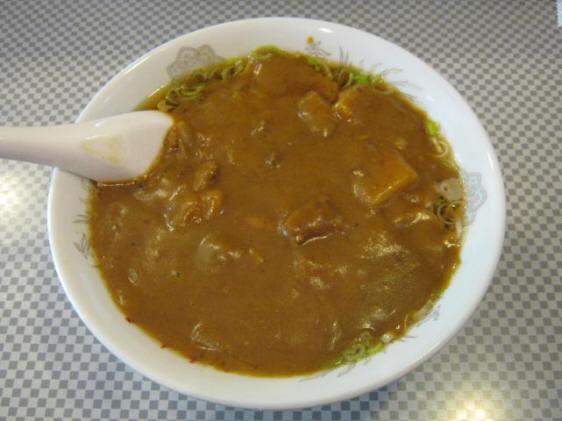 ときわ屋カレー中華20100606a