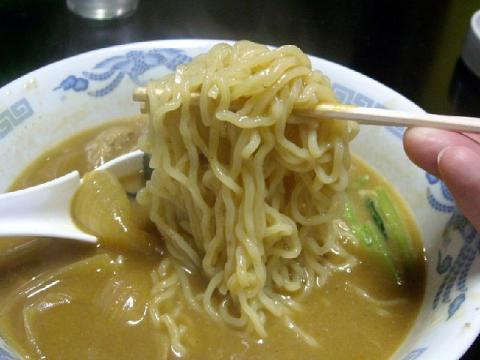 ロン・カレ-ラーメン麺