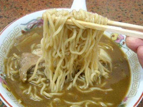 大黒亭本店・H22・11 カレー中華 麺