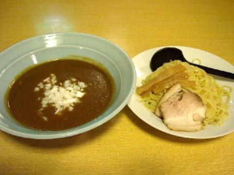 小川屋荒町店・カレーつけ麺