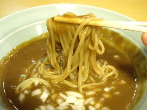 小川屋荒町店・カレーつけ麺 麺2