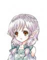 花のエルフ少女