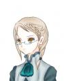 編みこみ眼鏡