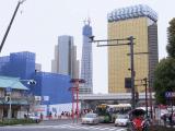 2010年3月31日の東京スカイツリー