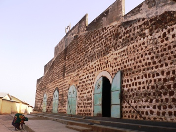 ジュグーで一番大きいモスク