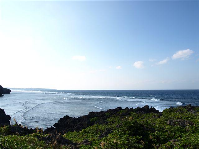 秋の海と空-1