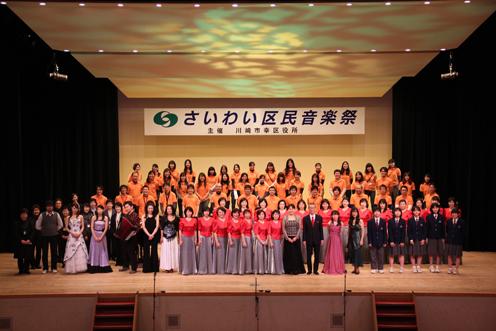 区民音楽祭集合写真2012,3月
