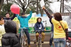 自転車発電2012,3月