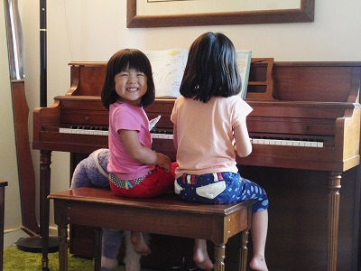 収穫とピアノ3