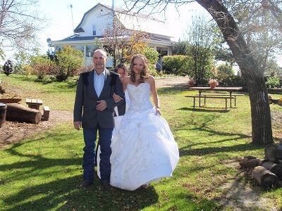 カナダの結婚式4