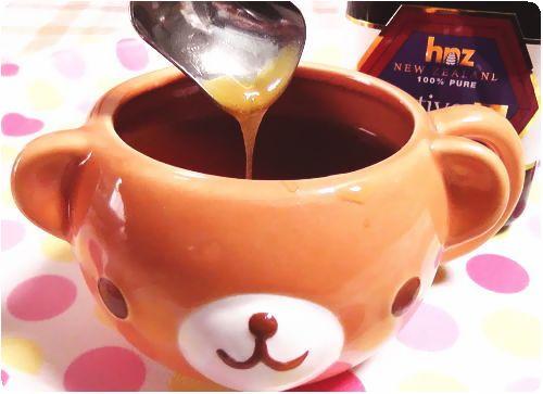 紅茶にマヌカハニー