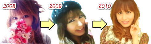 だっきゃ 過去のプロフィール画像 2008~2010