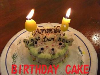 5years birthday cake