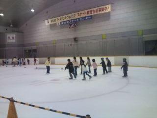 スケート教室②