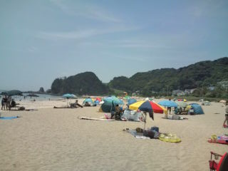 入田浜 (お昼頃)