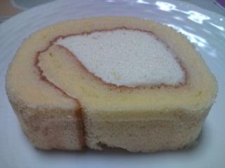 ロールケーキ アップ