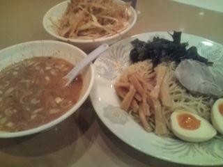 味噌つけ麺+ネギ