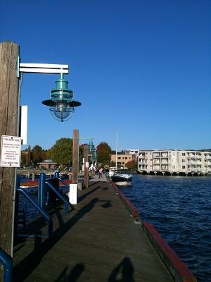 Dockから見た景色