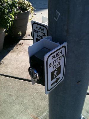 歩行者横断用押しボタン