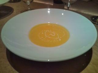 南瓜のスープ