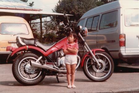 バイクとWo