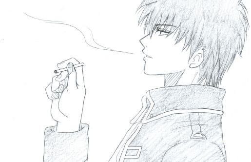 相変わらず、土方さんの口から出てるタバコの煙がエクトプラズムみたいだっていう(笑)