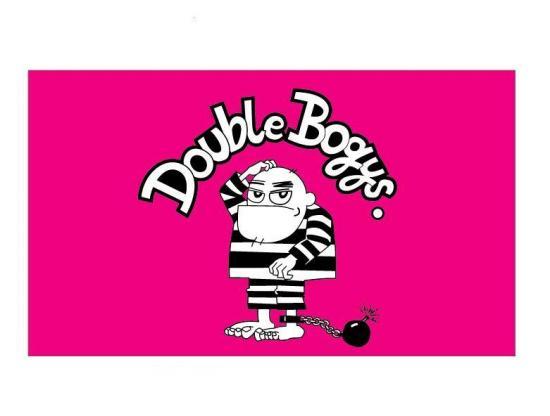 DoubleBogys横断幕