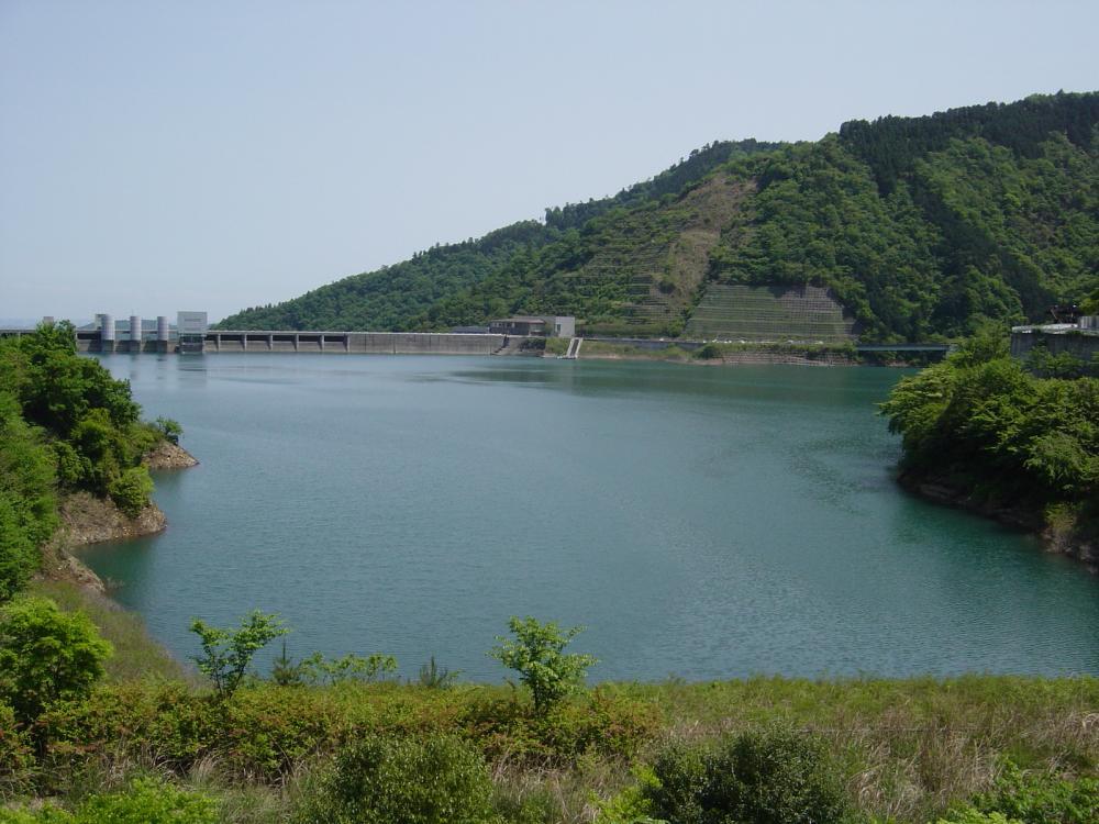 宮が瀬湖①
