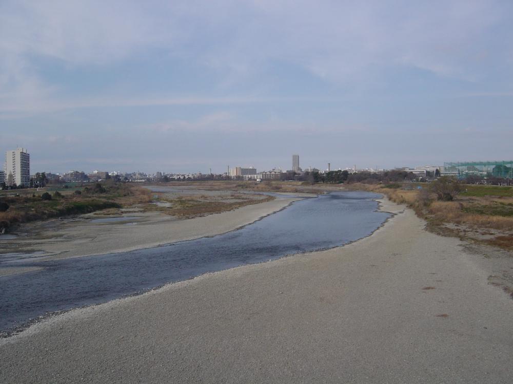 多摩水道橋より