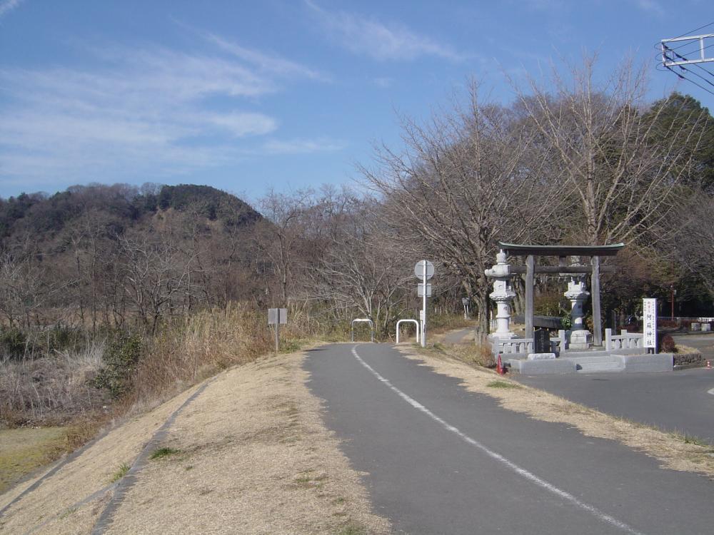 多摩川CR 左岸の始点