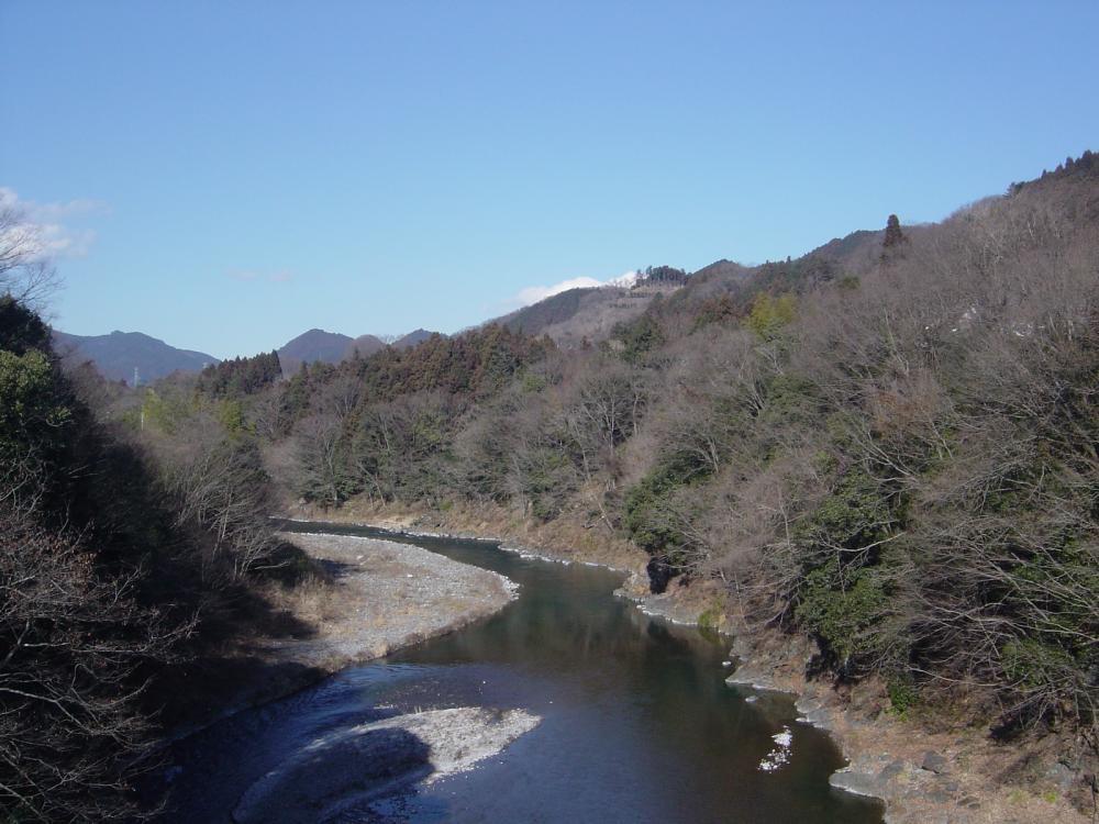多摩川 和田橋より①