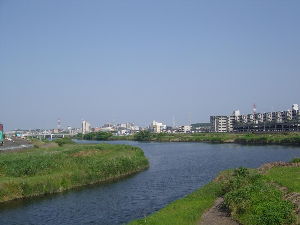 早渕・鶴見川
