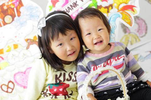 お誕生日ひゆいちゃんりいふちゃん20111030003