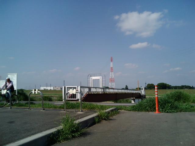 埼玉県杉戸町堤防付近の写真