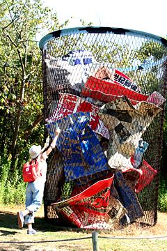 瀬戸内 巨大ゴミ箱