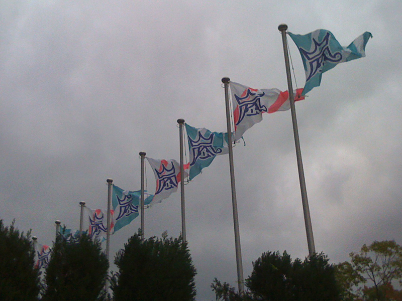 嵐魂当日 嵐ちゃん旗