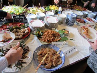 郷土料理の品々