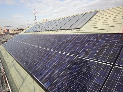 自宅太陽光発電